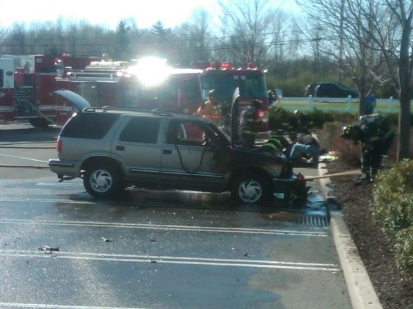 Car fire & rescue
