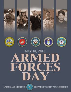 Armed forces day 2013