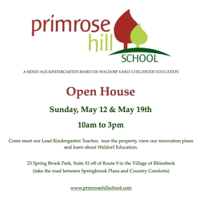 Open house flyer may 12 and 19 post
