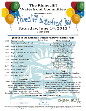 rhinecliff water day