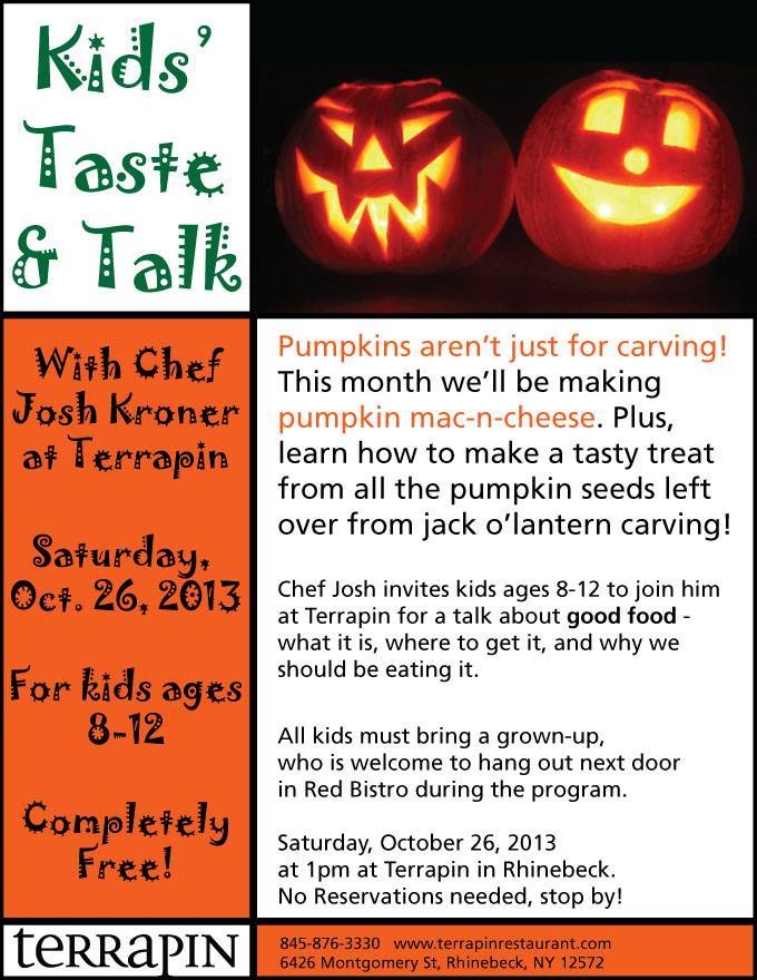 kids taste and talk