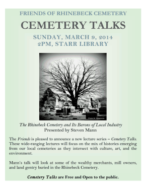 Cemetery Talks 2014 my photo