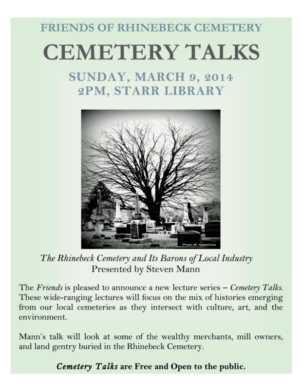 Cemetery Talks 2014 my photo