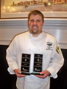Chef Preston Faust, Beekman Arms (Chef's Choice Award: Best Overall and Main Course)