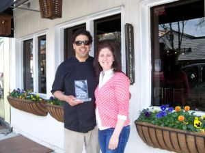 Chef Joseph Dalu and wife Jennifer Dalu, Le Petit Bistro (People's Choice Award: Best Overall)