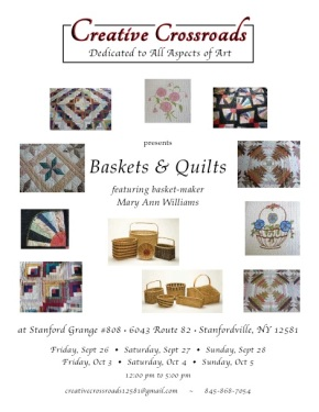 Creative Crossroads Baskets and Quilts 2014