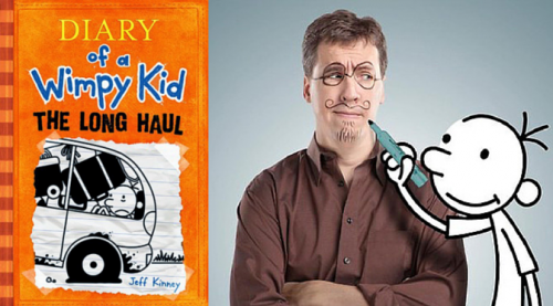 Jeff Kinney Diary Of A Wimpy Kid Book 9 The Long Haul Book Signing Road Trip Experience Rhinebeck Community Forum