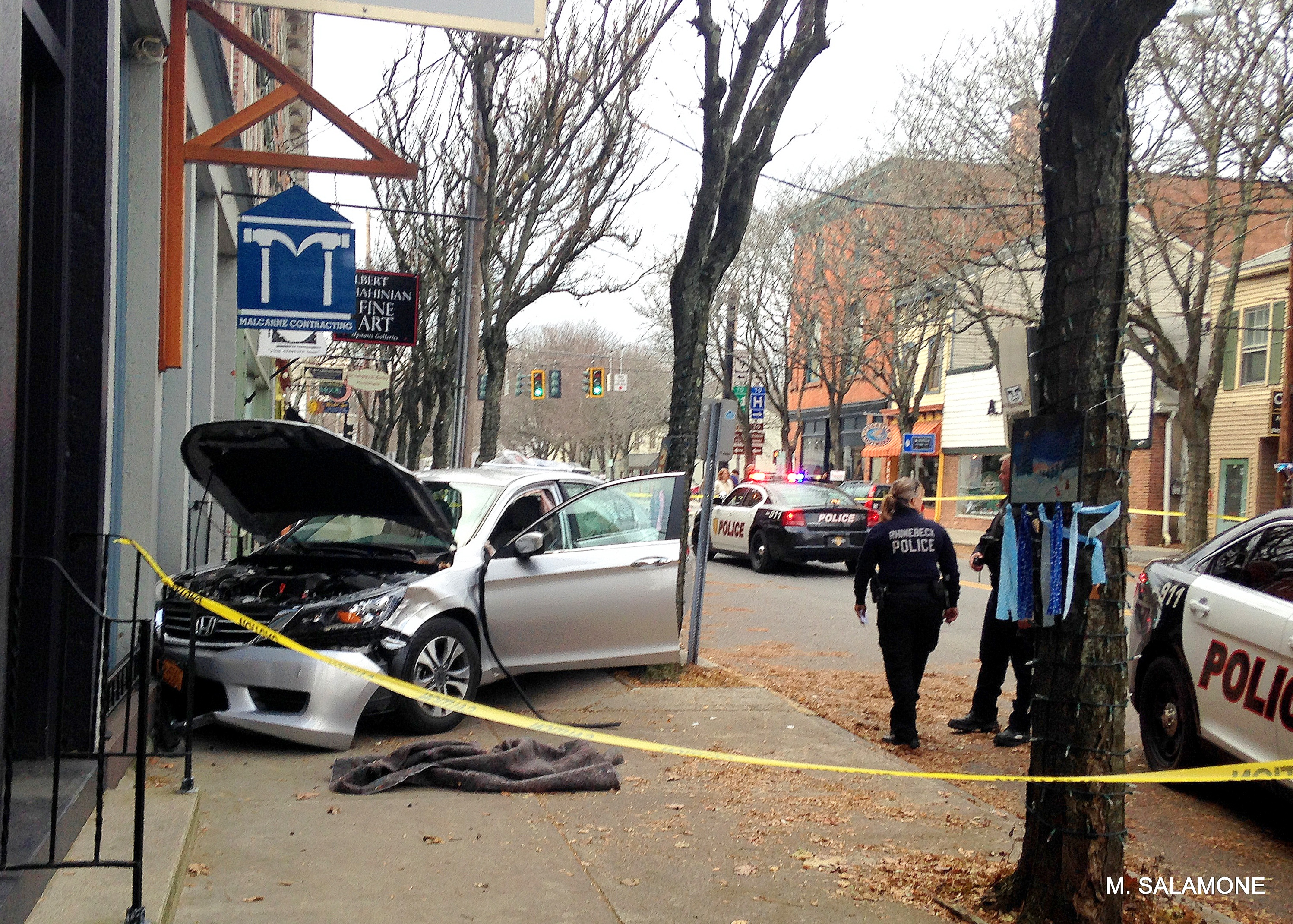UPDATE – Hudson Valley News Reports : Car accident in the