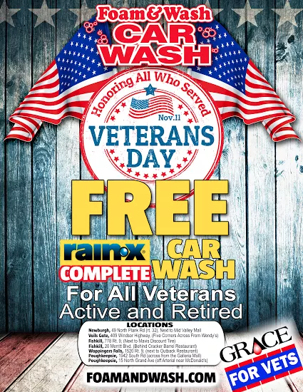 Veterans Day Free Car Wash Near Me
