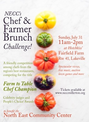 chef farmer brunch postcard 2016