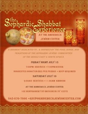 Sephardic Shabbat